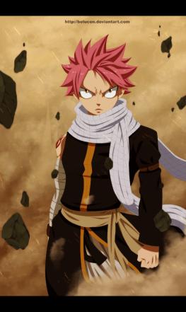 Fairy Tail 435 Natsu Dragneel by belucen
