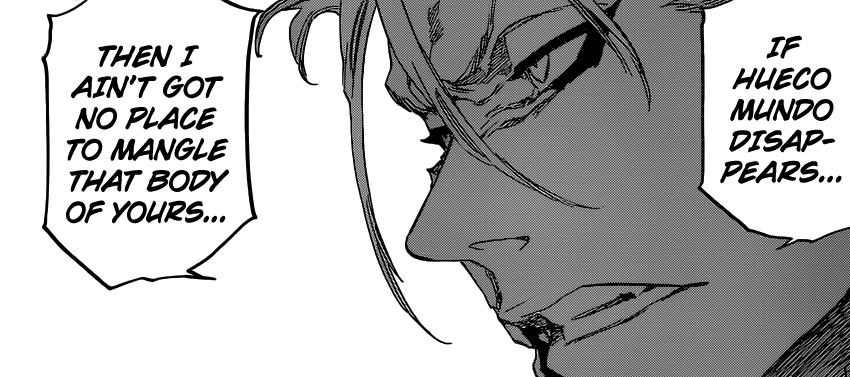 Grimmjow wants to fight Ichigo