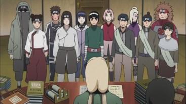 Tsunade promotes some members naruto shippuden 413