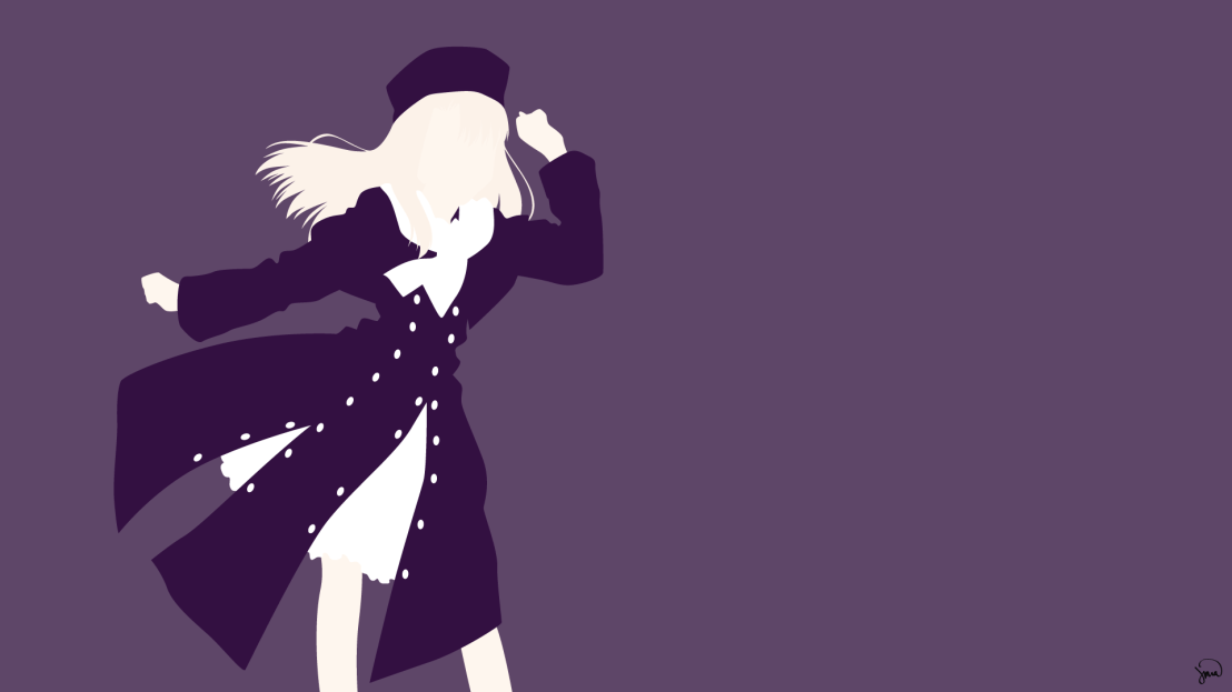 Illya Fate Stay Night Minimalist Wallpaper by greenmapple17
