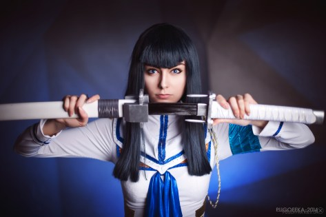 Kill La Kill Satsuki Kiryuin Cosplay by AlienOrihara
