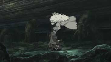 Madara takes Kakashi's Sharingan