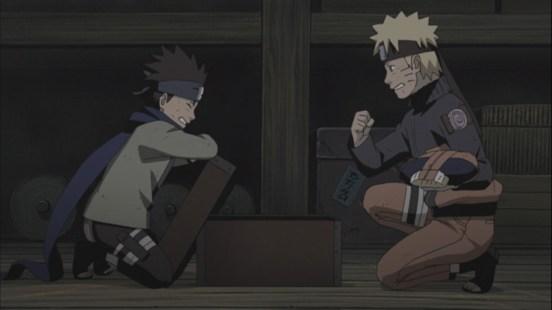 Naruto and Konohamaru
