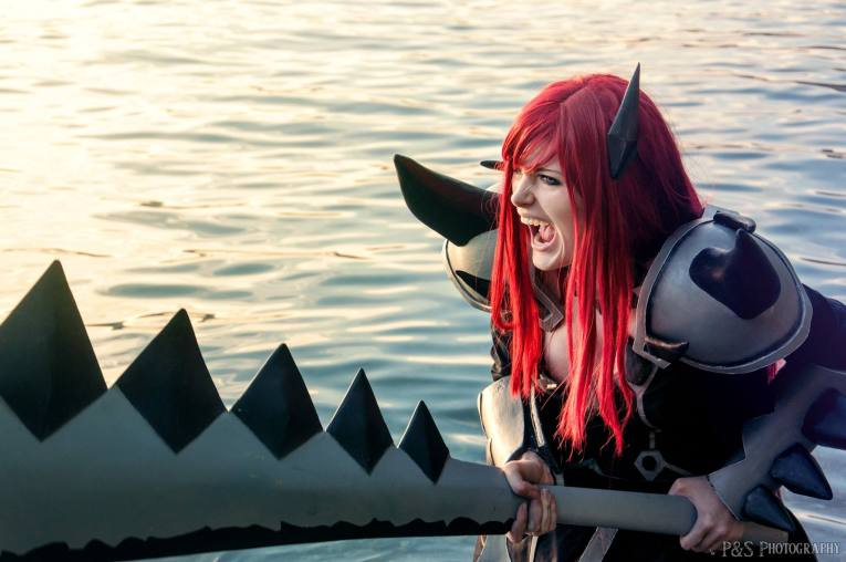 Purgatory Armor Cosplay Erza Scarlet by Arrysia