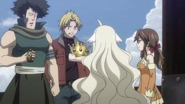Mavis finds crown