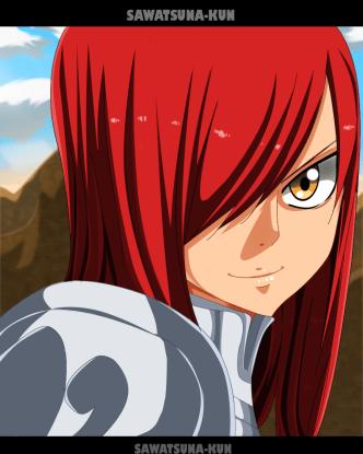 Fairy Tail 472 Erza by sawadatsuna-kun