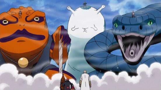 Sasuke Naruto Sakura and animals