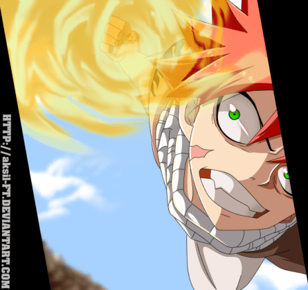 Fairy Tail 479 Natsu by aksil-ft