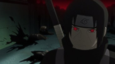 Itachi attacks Uchiha's