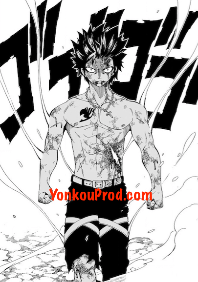 Fairy Tail 499 Gray empowered