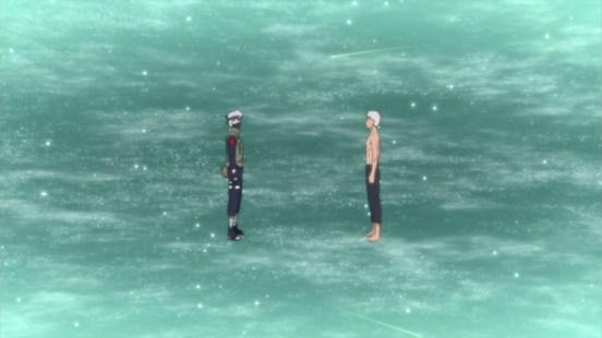 Kakashia and Obito last moments