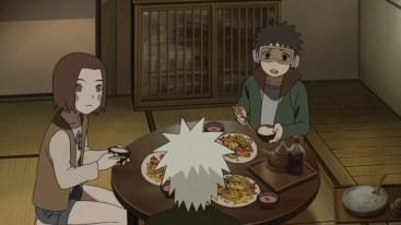 kakashi-makes-food-for-rin-and-obito