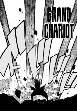 Grand Chariot against Acnologia