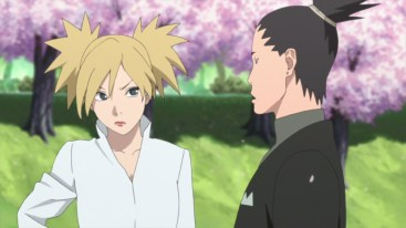 Temari and Shikamaru