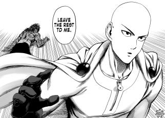 Saitama tells Suiryu to rest