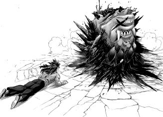 Suiryu see's Goketsu's Head