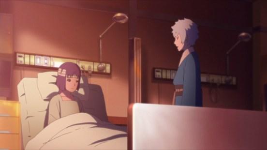 Mitsuki visits class rep