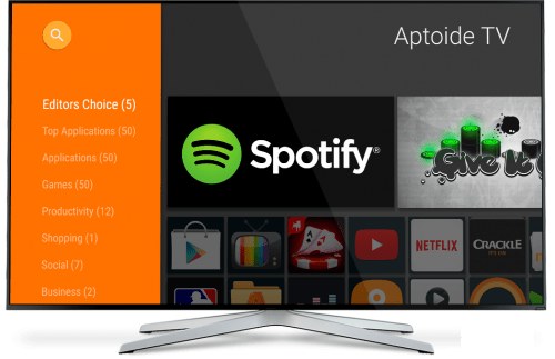 Screenshots Aptoide TV