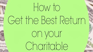 How to Get the Most out of Your Charitable Deductions. 8