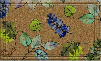 10 Colorful Spring Door Mats 42