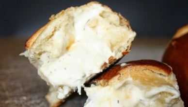 Stuffed Pretzel Rolls with Beer Cheese Dip 14