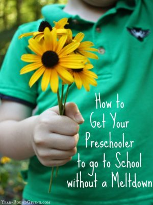 how to get your preschooler to go to school without a meltdown