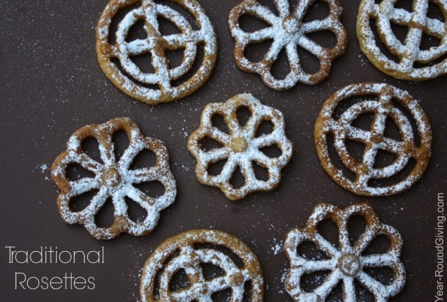 Tradition Rosette Recipe and Detailed Instructions