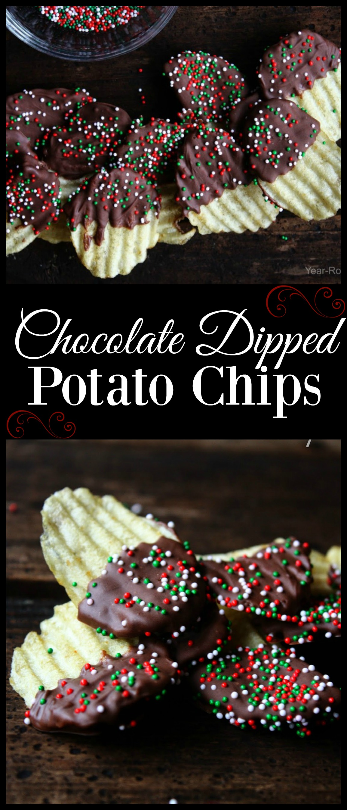 Chocolate Dipped Potato Chips - Daily Appetite