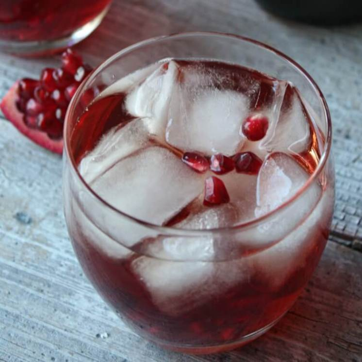 Pomegranate Fizz