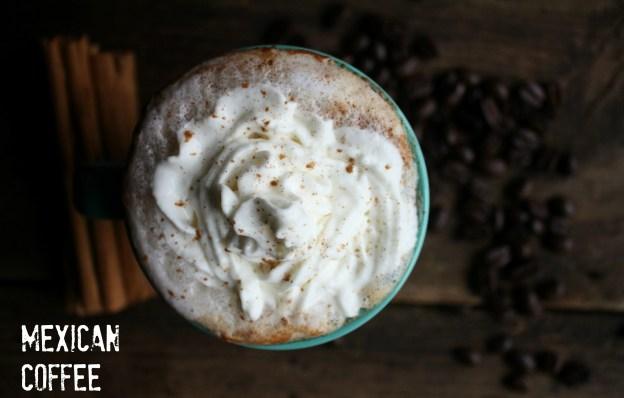 Mexican Coffee. A boozy dessert coffee.