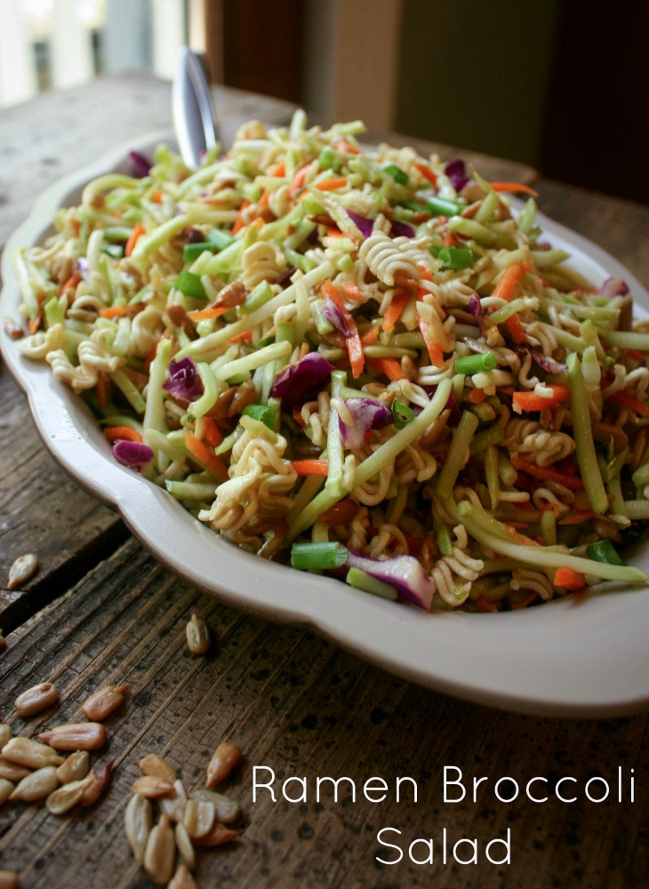 how to make ramen salad