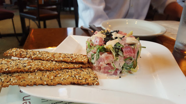 Tuna Tartare at Crush Kitchen, Annapolis MD