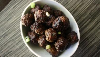 Teriyaki Ginger Meatballs 2