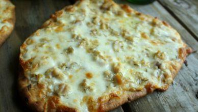 White Clam Flatbread Pizza 1