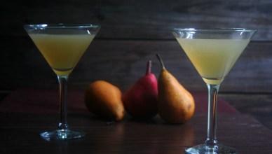 Vanilla Pear Cocktails