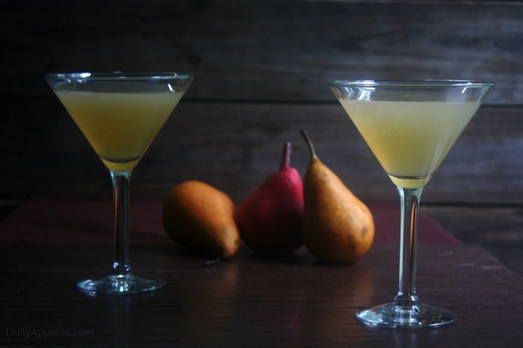 Vanilla Pear Cocktails