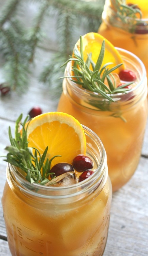 "Holiday Bourbon Punch. Citrus, spice and everything nice went in to making this Holiday Bourbon Punch. It is the perfect ""house drink"" at your next holiday party."