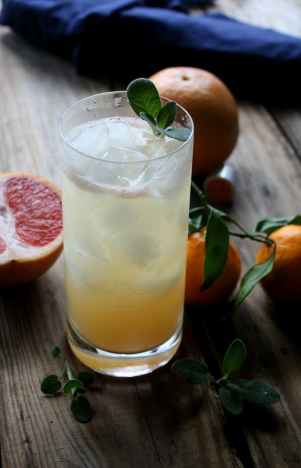 Citrus Sage Vodka Cooler