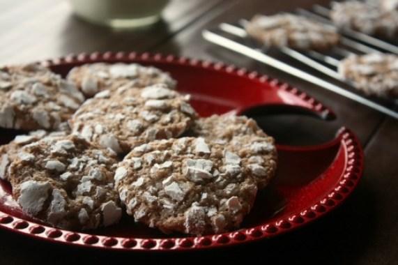 Original Chocolate Crinkle Cookies