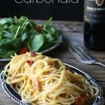 Spaghetti Carbonara 1