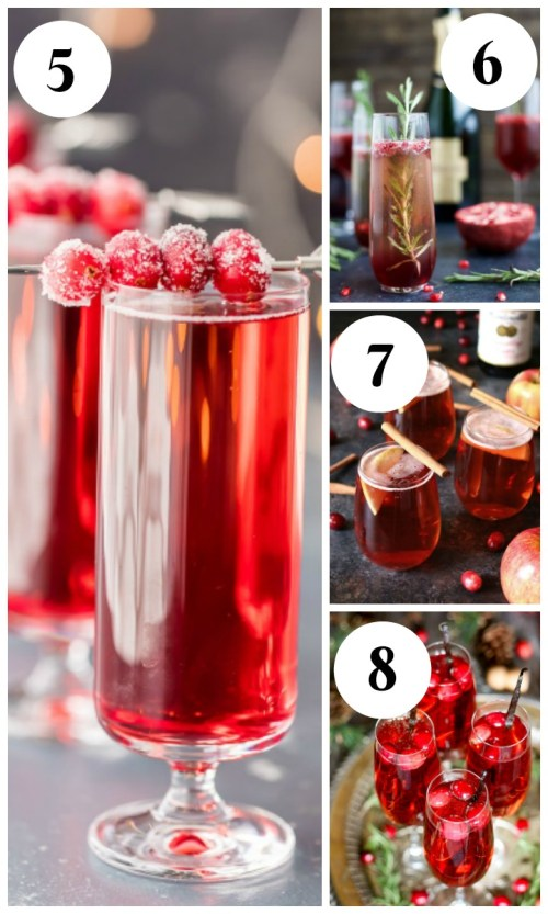 25 Christmas Cocktail Recipes - Christmas Mimosas