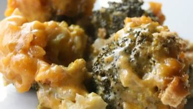 Slow Cooker Broccoli Cheese Casserole is so easy to make. You just set it and forget it then you have a delicious comforting casserole. Serve with roasted chicken or turkey with mashed potatoes and gravy.