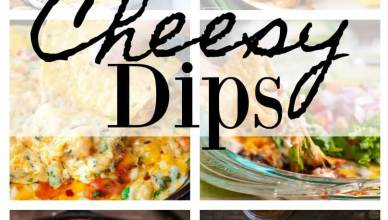 This collection of Super Cheesy Dips is your go-to when it comes to parties, tailgating, or just to self indulge on cheese, glorious melted bubbly cheese!