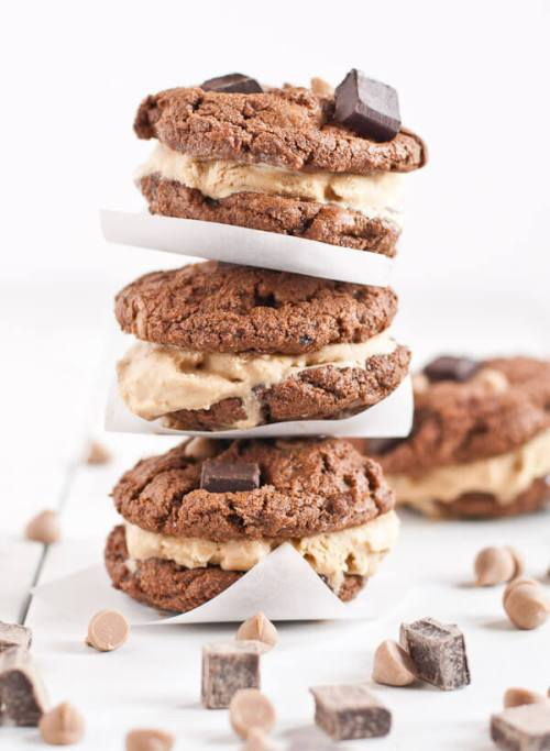 Chocolate Cookie Ice Cream Sandwiches plus 20 more Chocolate Cookie Recipes