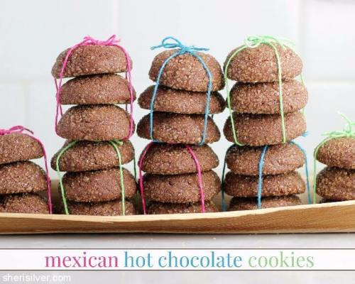 Mexican Hot Chocolate Cookies plus 20 Chocolate Cookie Recipes