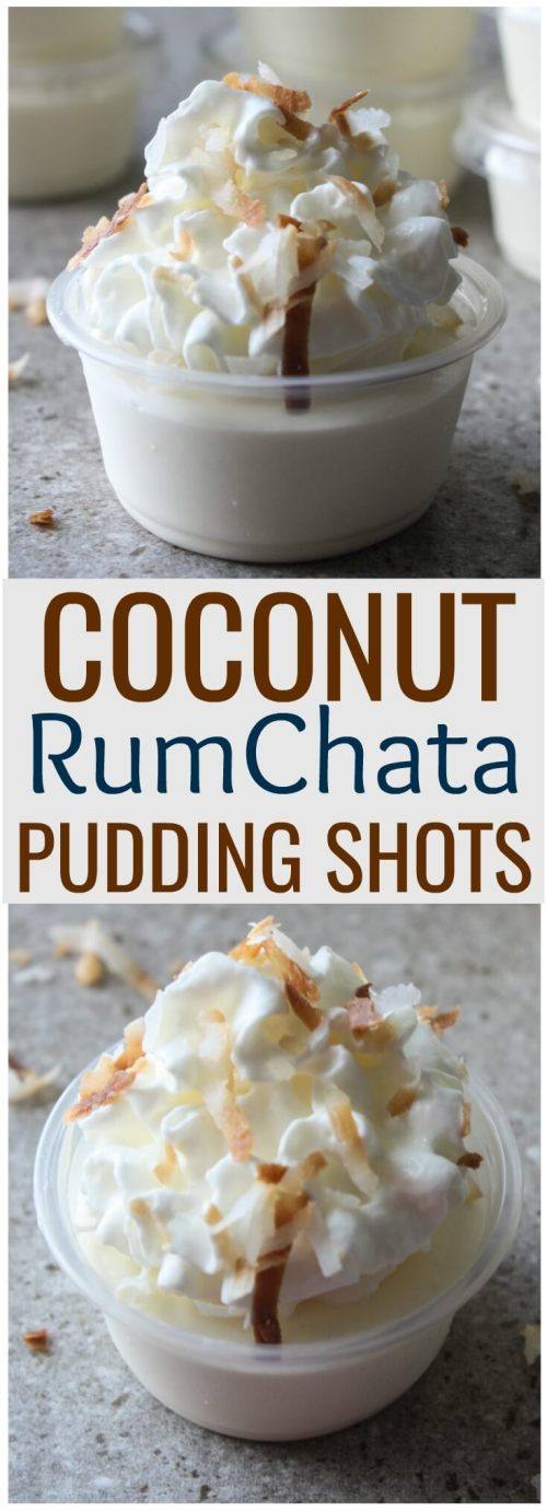 Coconut RumChata Pudding Recipe