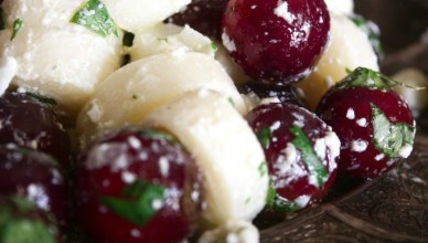 Hearts of Palm and Grape Salad