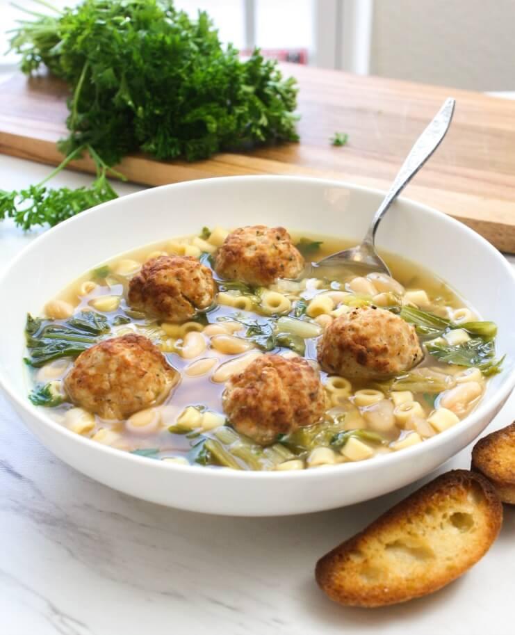 Escarole and White Bean Soup