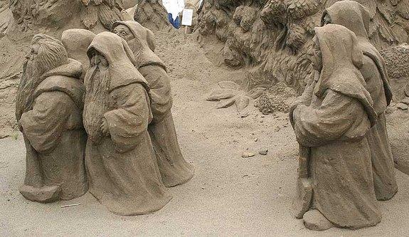 Amazing Sand Castles
