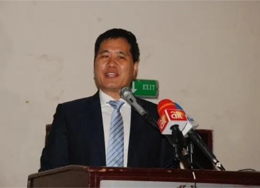 Chinese Ambassador to Nigeria, Mr Zhou Pingjian